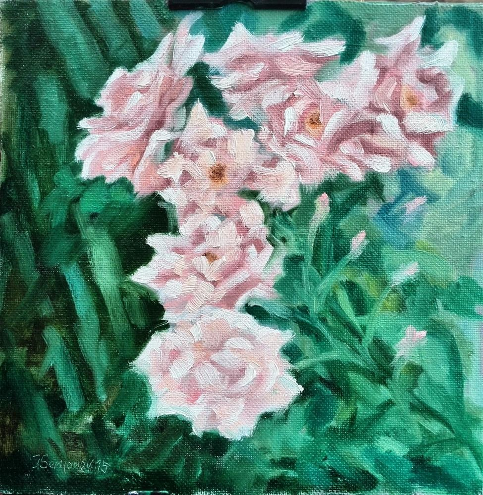"""summer roses"" original fine art by Yuriy Semyonov"