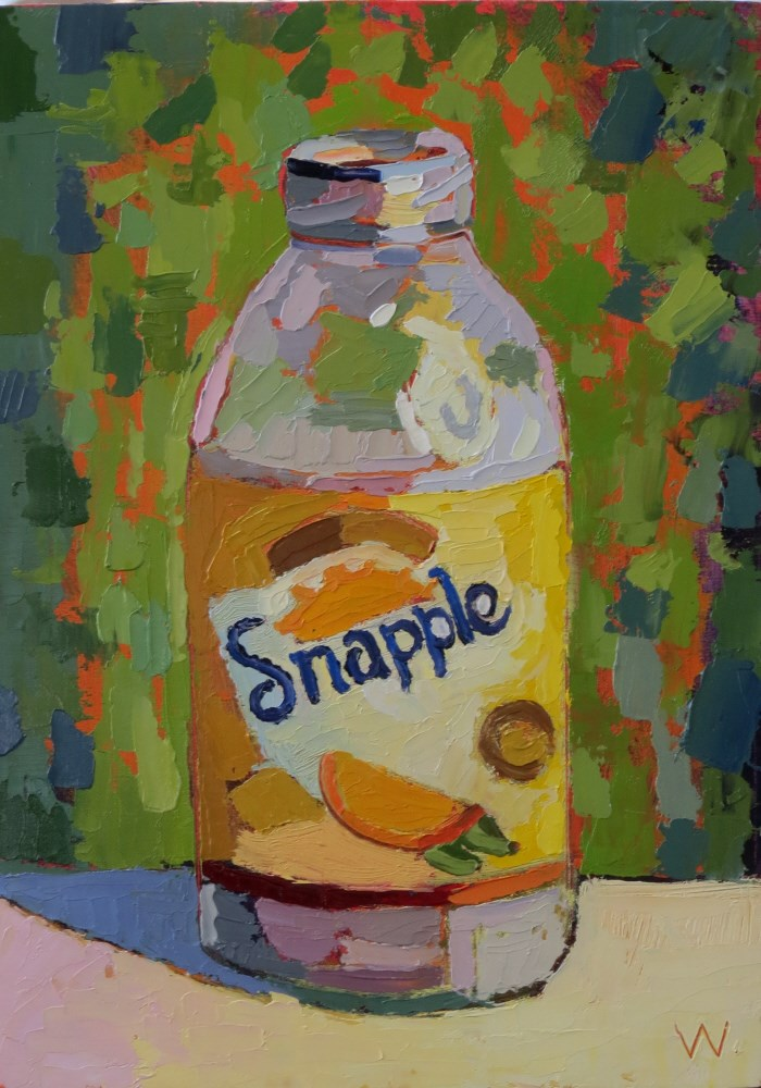 """Snapple"" original fine art by Joan Wiberg"