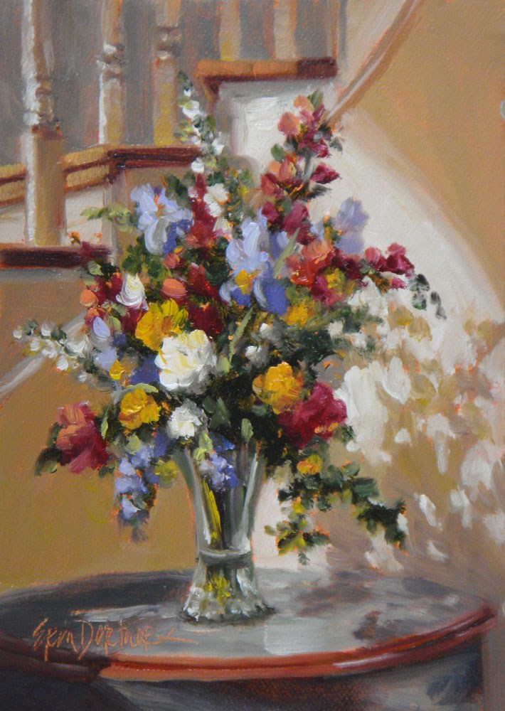 """Sunlit Elegance"" original fine art by Erin Dertner"