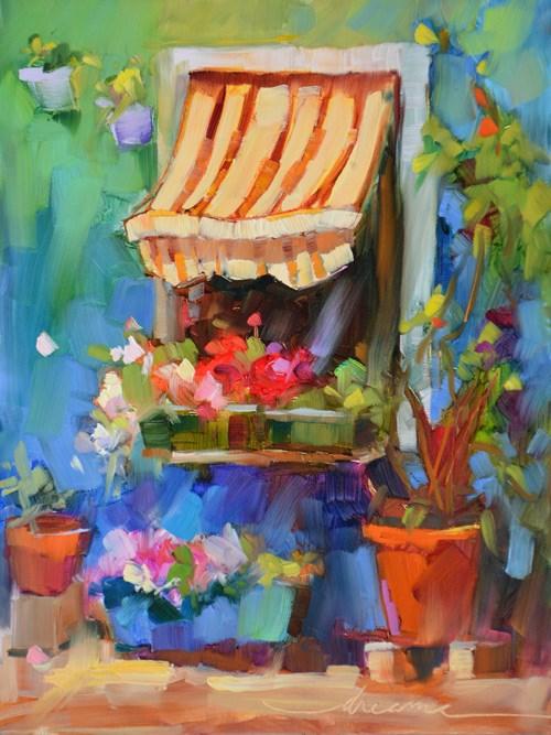 """""""When I Dream"""" original fine art by Dreama Tolle Perry"""