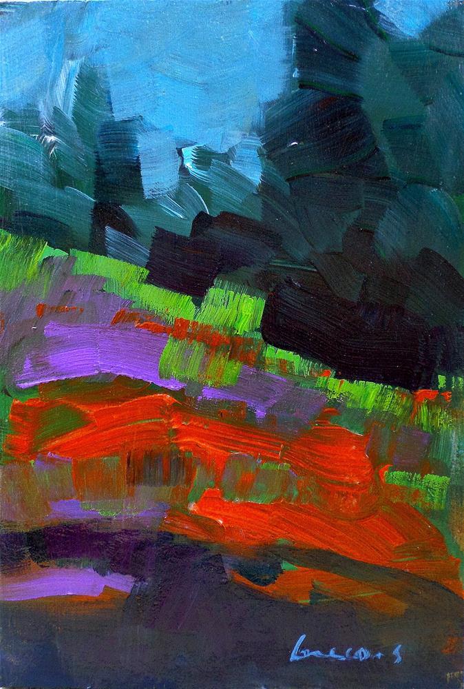 """""""In the field"""" original fine art by salvatore greco"""