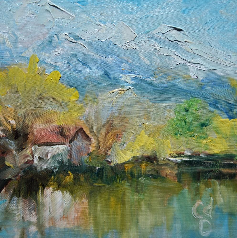 """Waters Edge"" original fine art by Catherine Crookston"