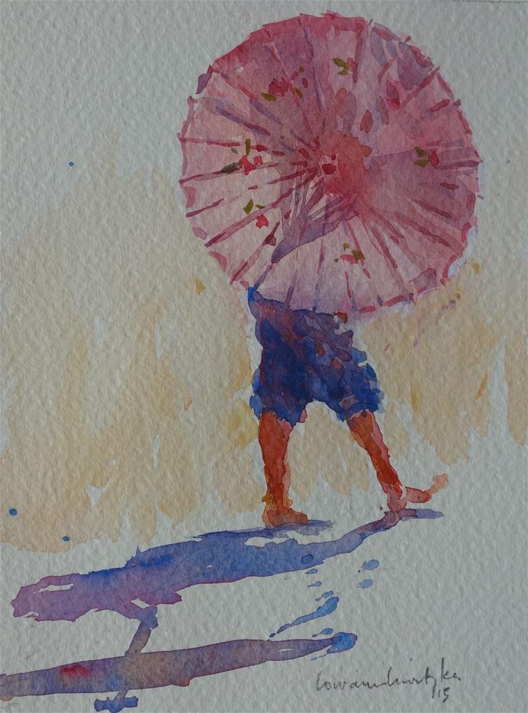 """Twirling"" original fine art by Lorraine Lewitzka"