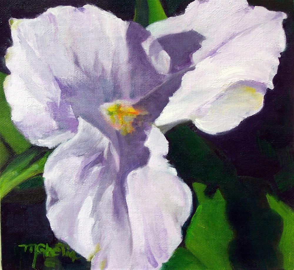"""Spring Trillium"" original fine art by Maureen Ghetia"