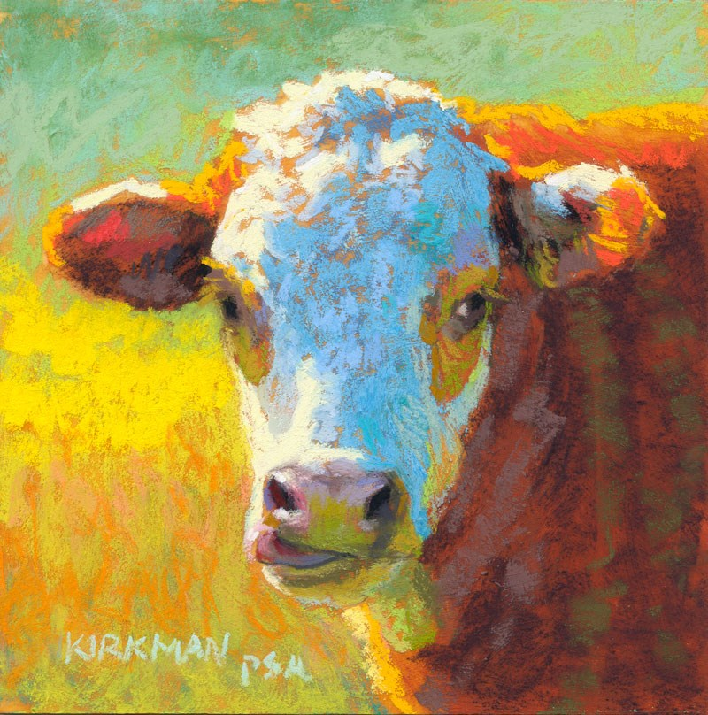 """Butternut"" original fine art by Rita Kirkman"