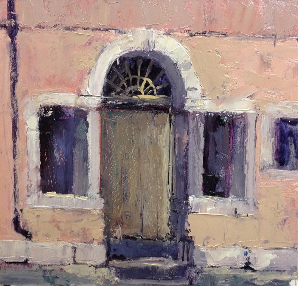 """Day 18 of 30 Venice"" original fine art by Mo Teeuw"