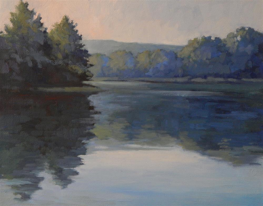"""Lakeview"" original fine art by Lisa Kyle"
