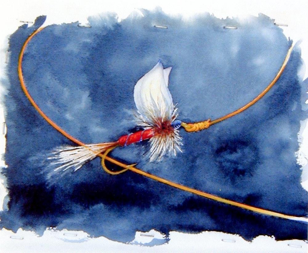 """""""Flyer"""" original fine art by Susanne Billings"""