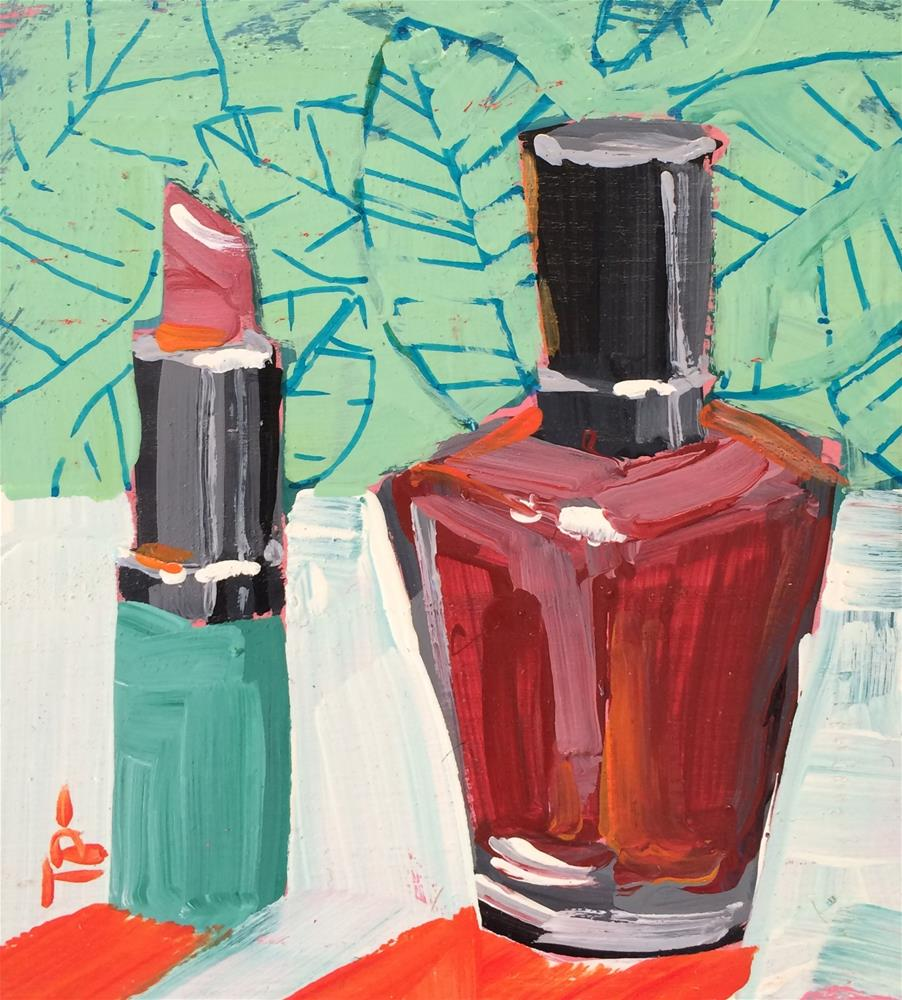 """""""Feelin' Fancy"""" original fine art by Teddi Parker"""