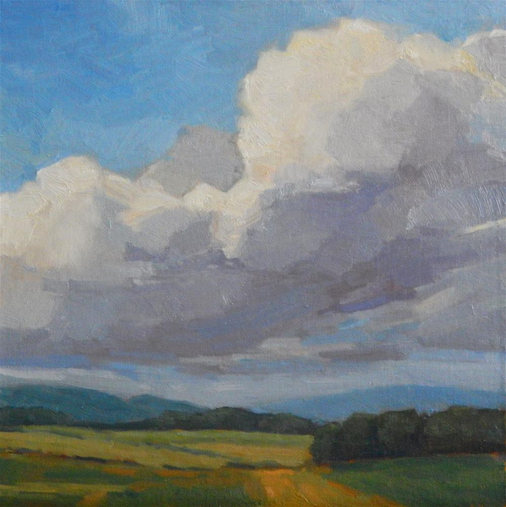 """Afternoon Clouds"" original fine art by Lisa Kyle"