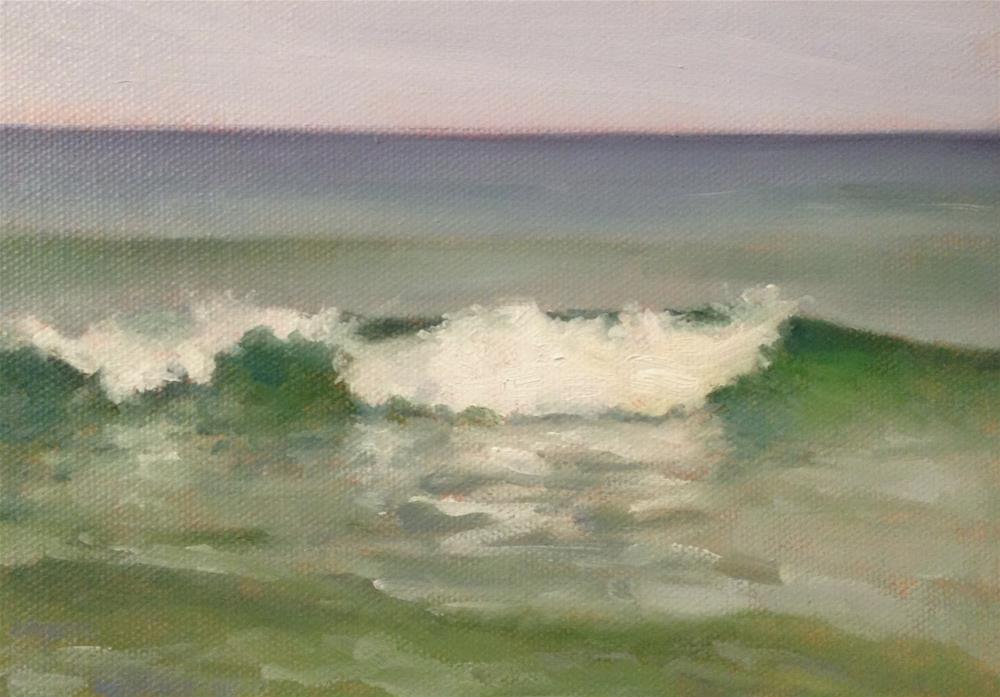 """Surf"" original fine art by Michelle Garro"