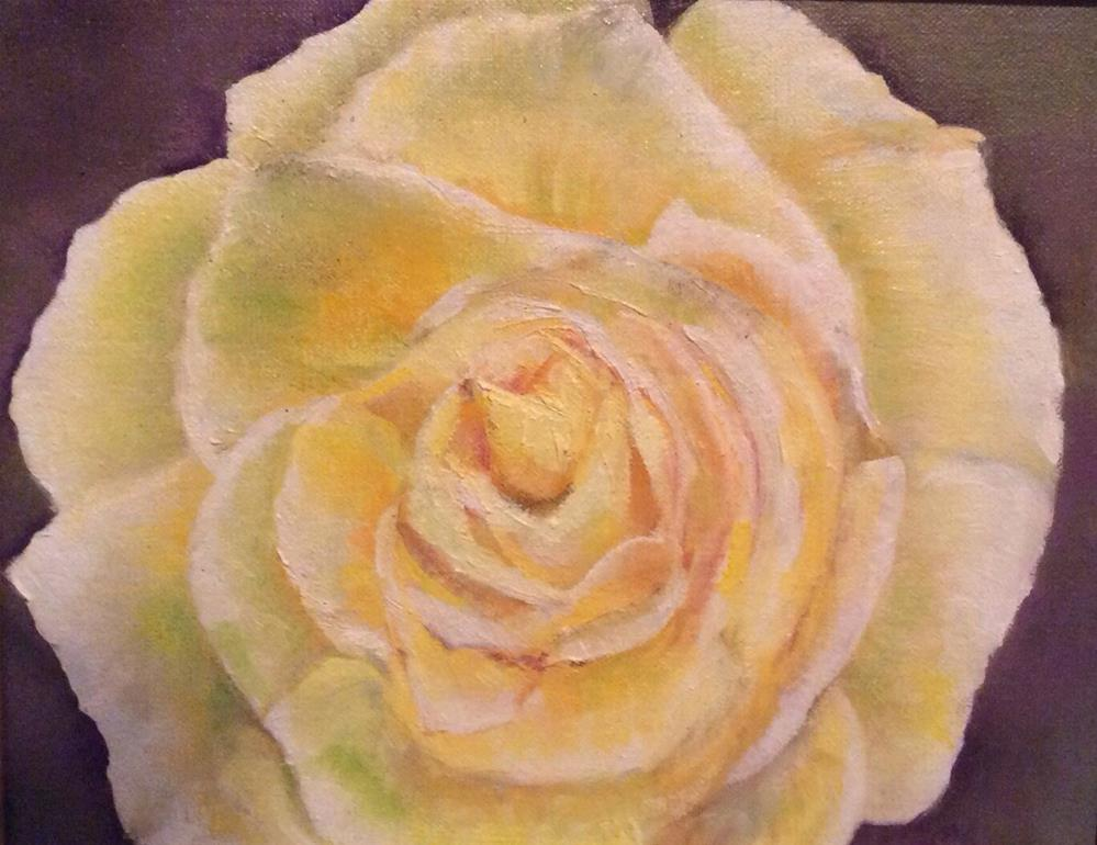 """Roses are Coming Up"" original fine art by Charlotte Lough"