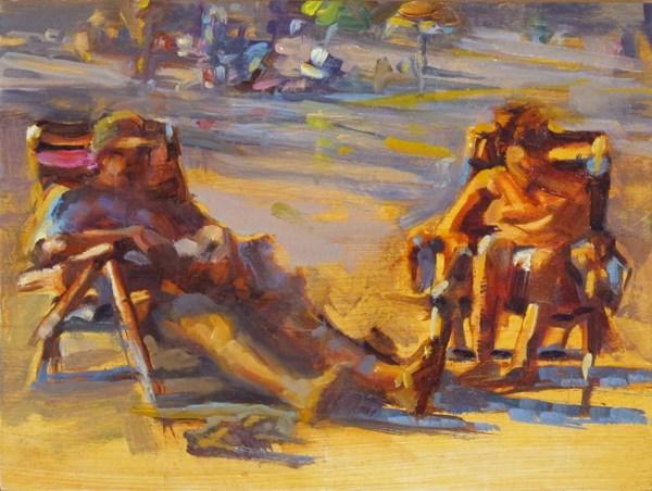 """Last Summer"" original fine art by Karen Bruson"