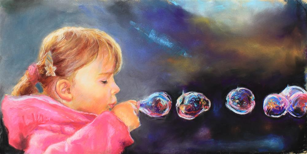 """Bubbles"" original fine art by Marco Vazquez"