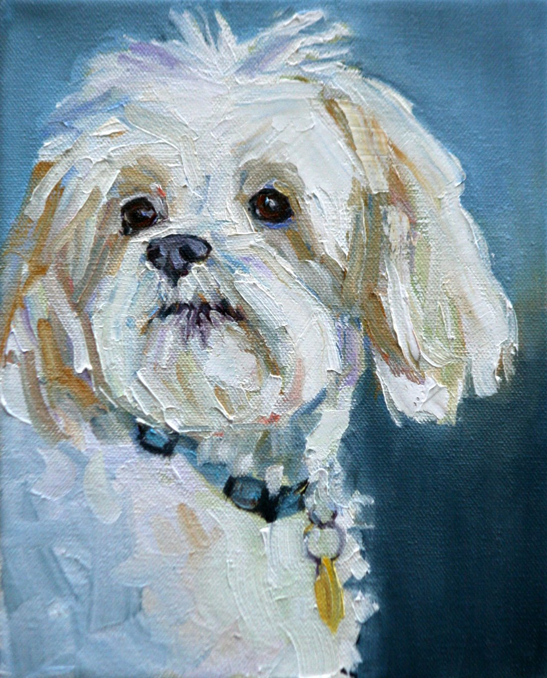 """belle"" original fine art by Carol Carmichael"