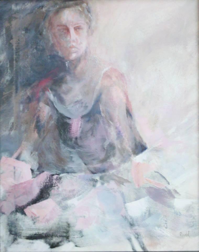 """""""Strength"""" original fine art by Ann Rudd"""