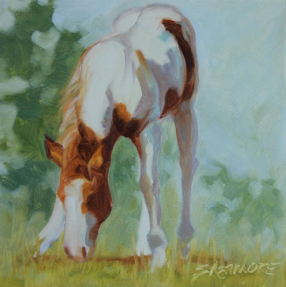 """Spring Foal"" original fine art by Susan Ashmore"