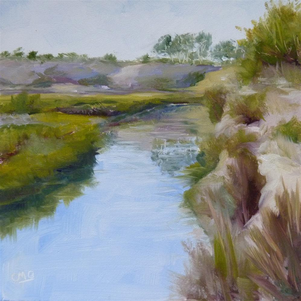 """Up A Creek"" original fine art by Cindy Greene"