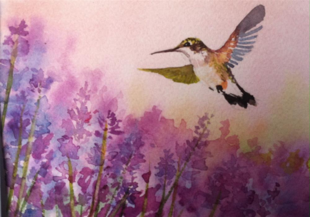 """Majestic flight"" original fine art by Kathryn Kittell"