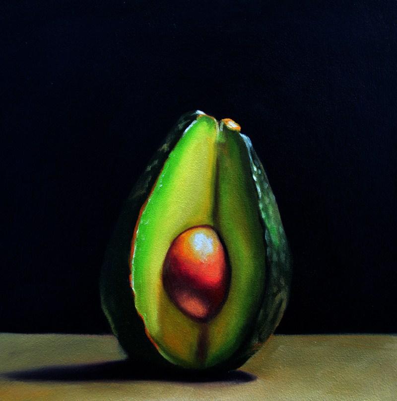 """""""Quarter Slice"""" original fine art by Lauren Pretorius"""