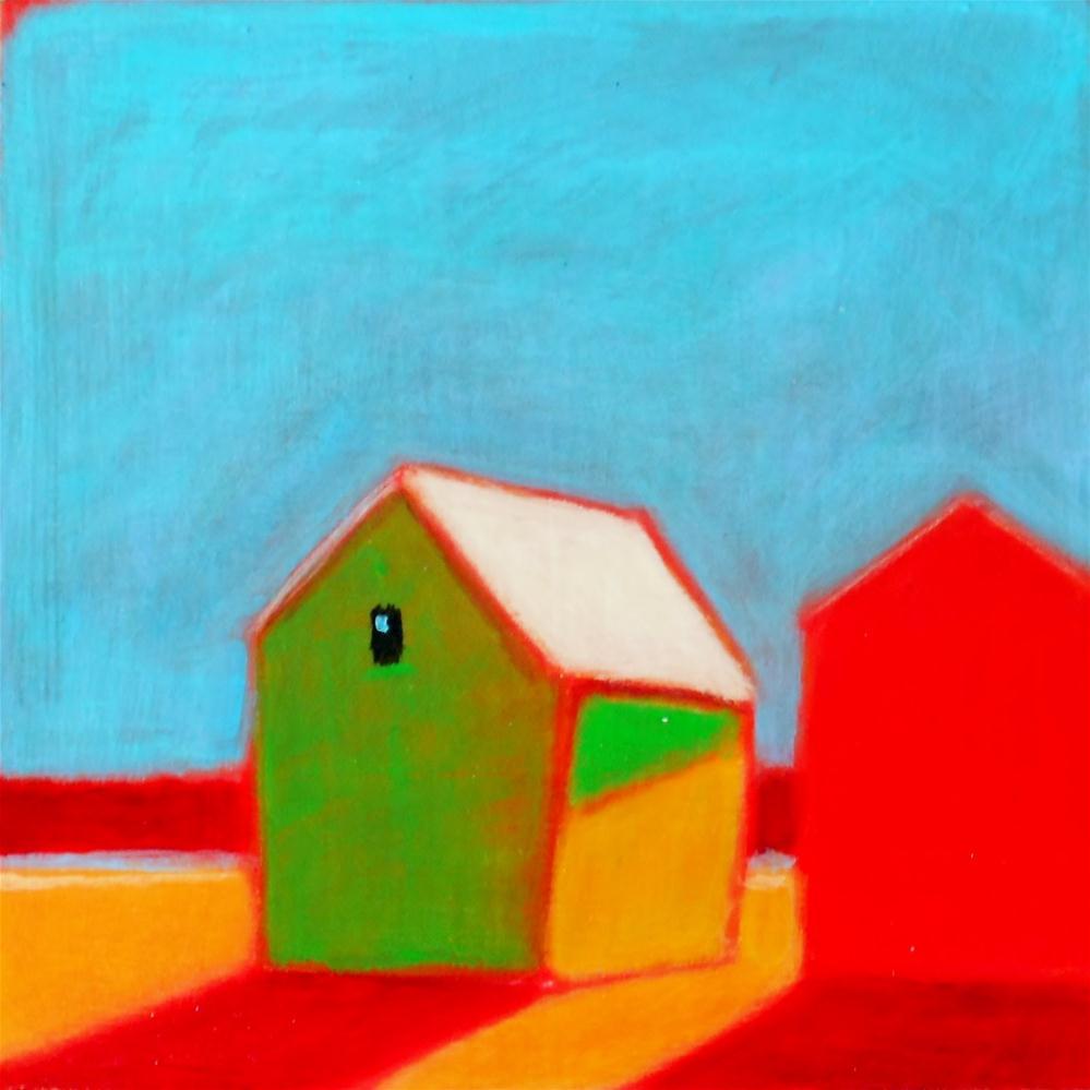 """""""Beach Buds"""" original fine art by Almira Hill Grammer"""