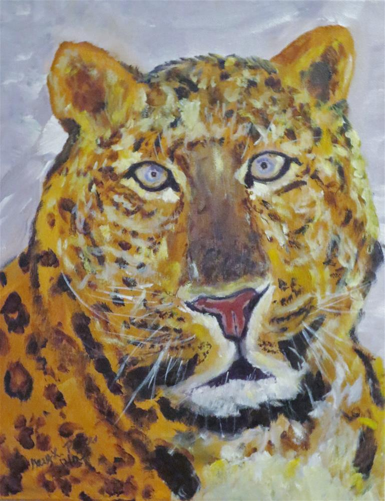 """Leopard"" original fine art by Gary Price"