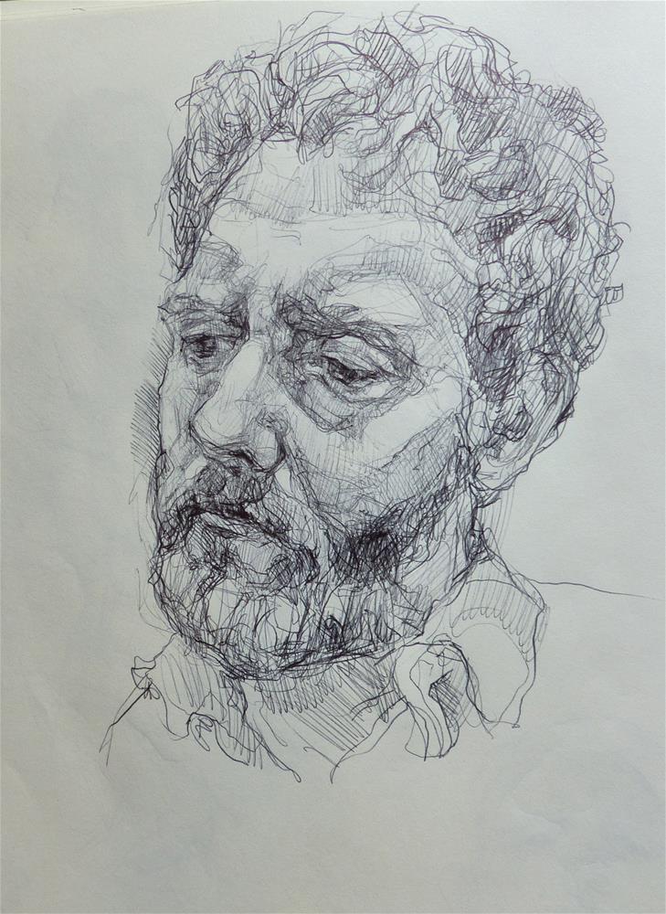 """sketchbook100"" original fine art by Katya Minkina"