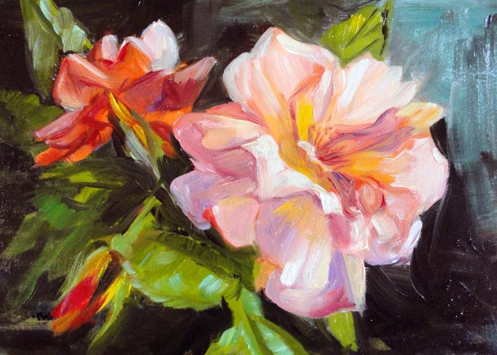 """Full-Blown Bloom"" original fine art by Cietha Wilson"