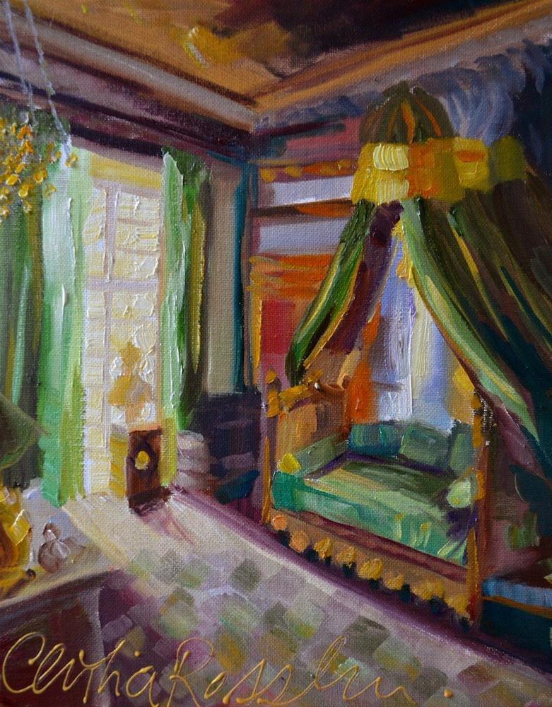 """Serenity"" original fine art by Cecilia Rosslee"