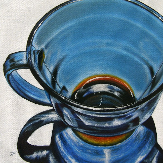"""Glass Study"" original fine art by Jelaine Faunce"