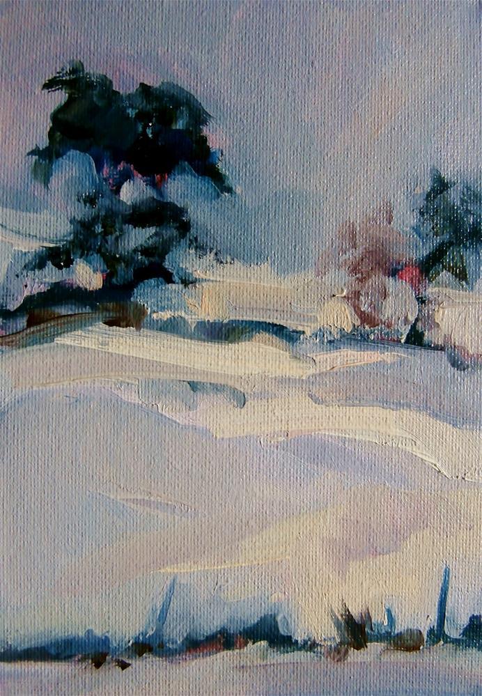 """Muffled"" original fine art by Anne Wood"