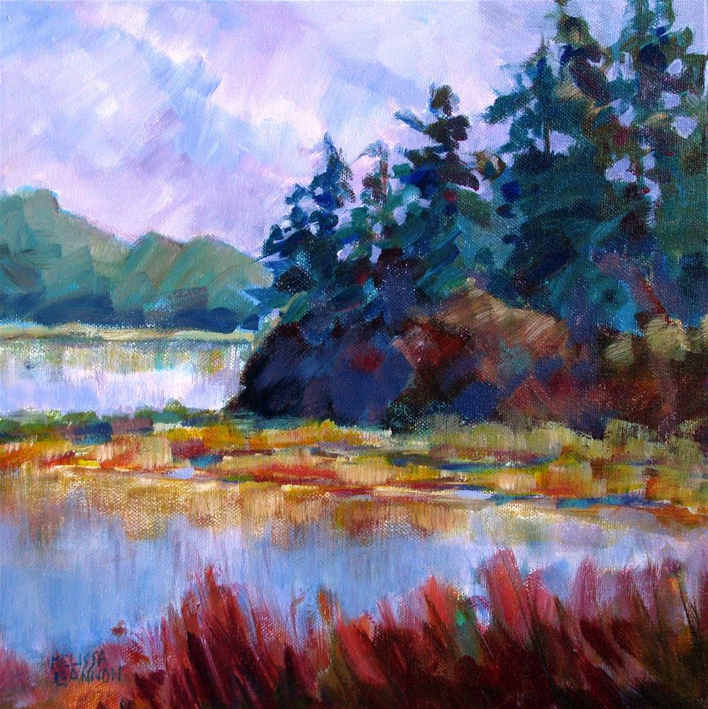 """Land & Water Tapestry"" original fine art by Melissa Gannon"