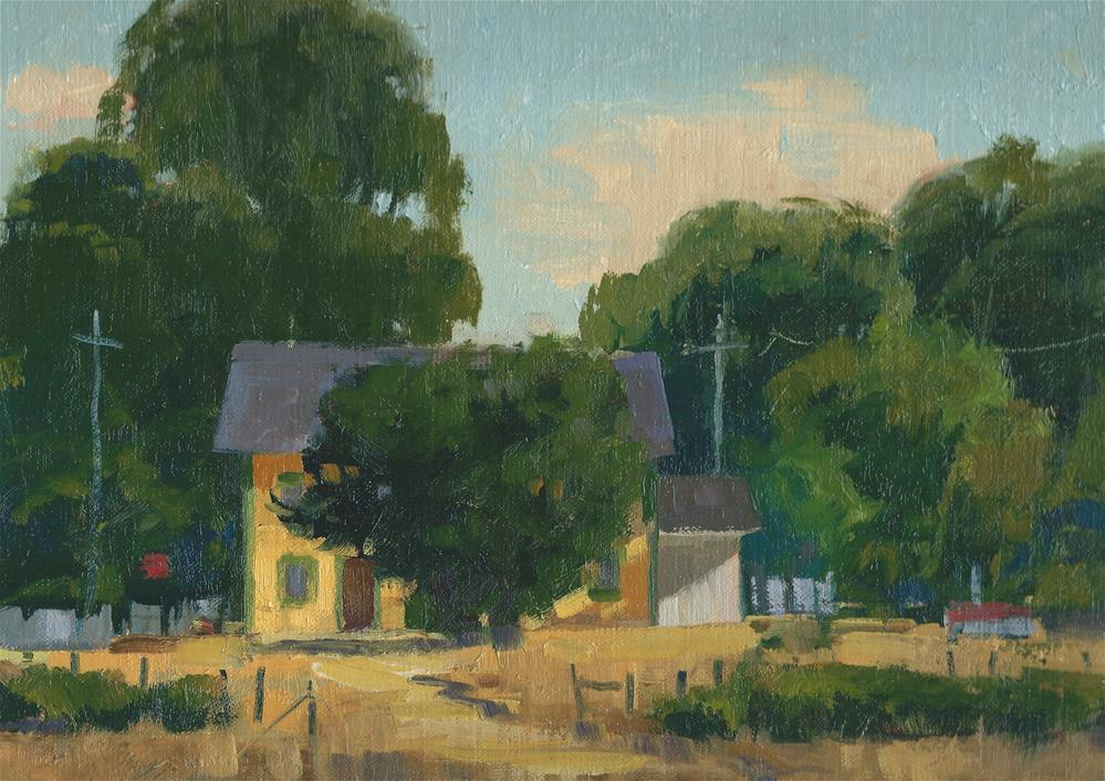 """Summer on the farm"" original fine art by J. Thomas soltesz"