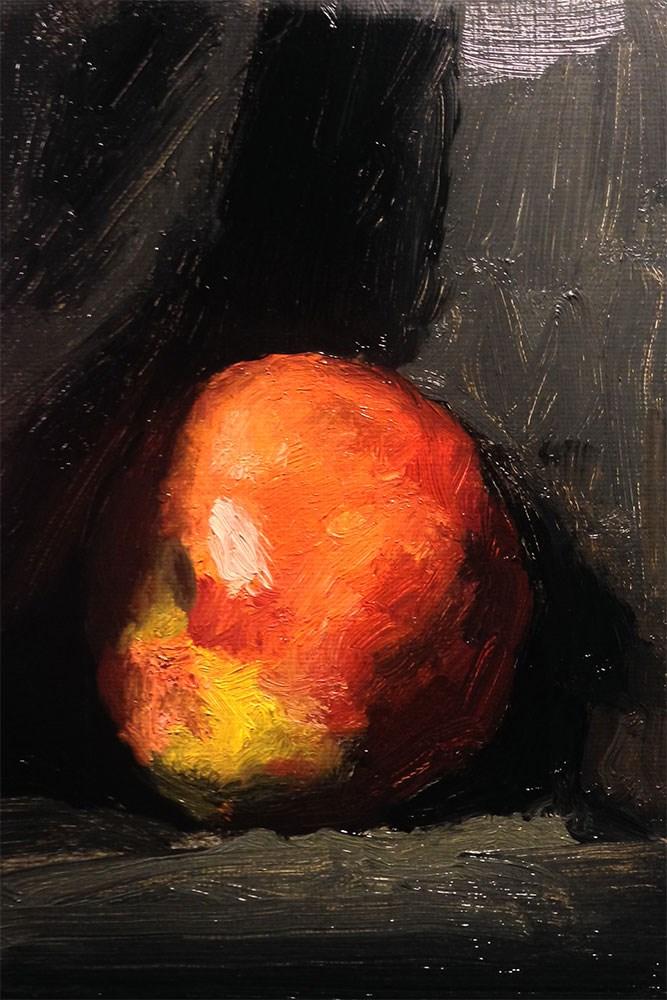 """Apple"" original fine art by Chris Beaven"