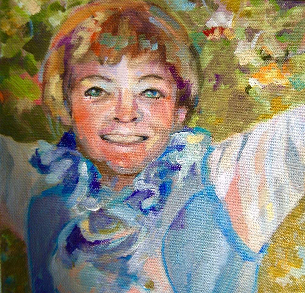 """My Self Prtrait"" original fine art by Reveille Kennedy"