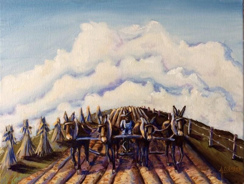 """""""Never Ending"""" original fine art by Jolynn Clemens"""