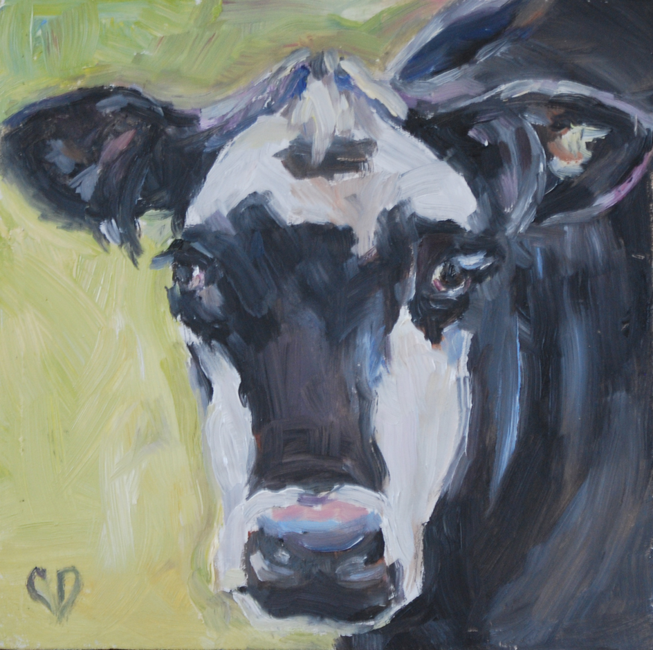"""Got Food?"" original fine art by Carol DeMumbrum"