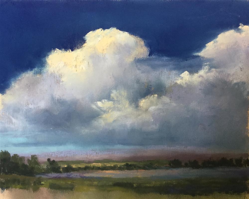 """Shifting light"" original fine art by Jan Hutchinson"