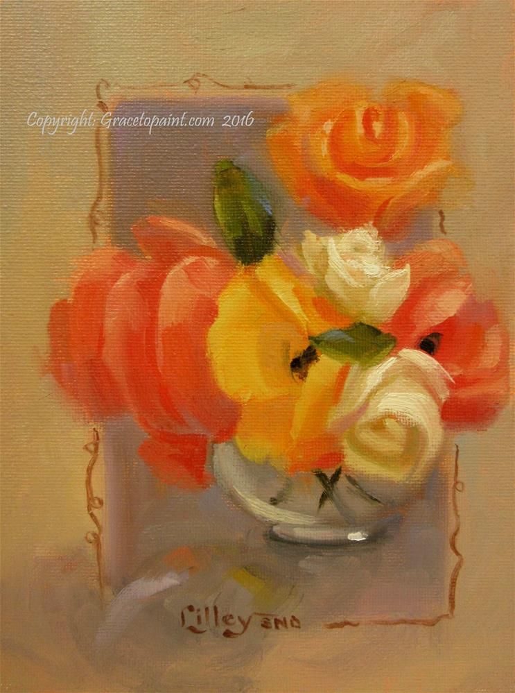"""Sunshine Bunch"" original fine art by Maresa Lilley"