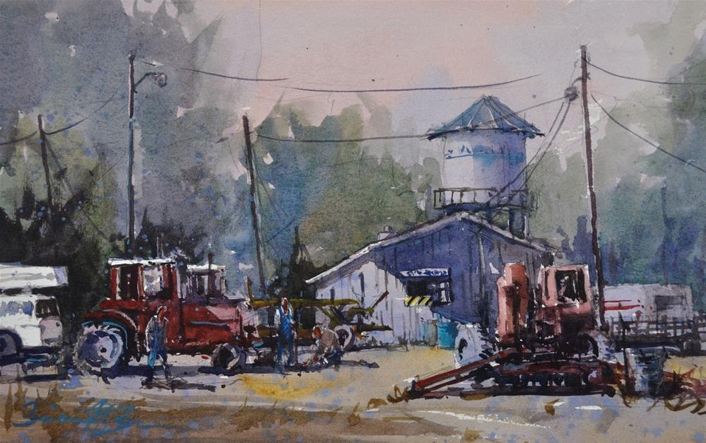 """Kane Creek Stop"" original fine art by Brienne M Brown"