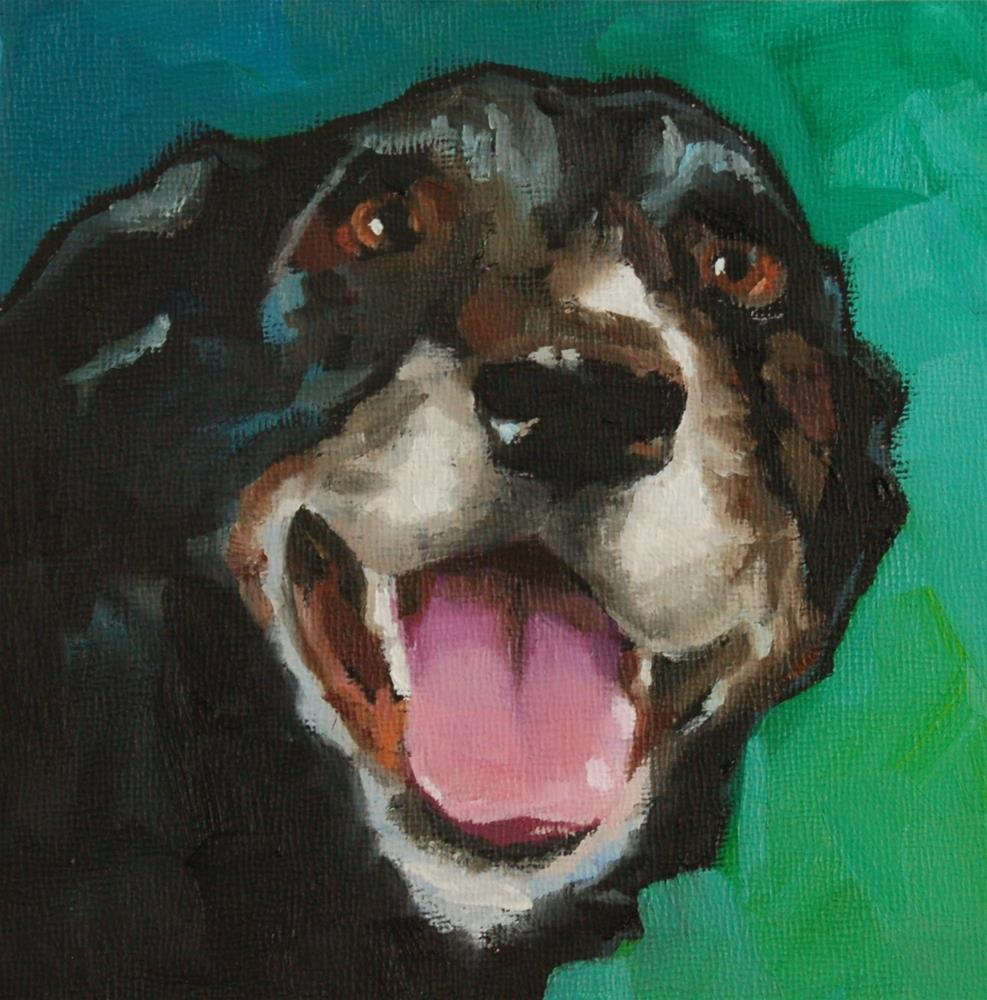 """Buddy"" original fine art by Philla Barkhorn"