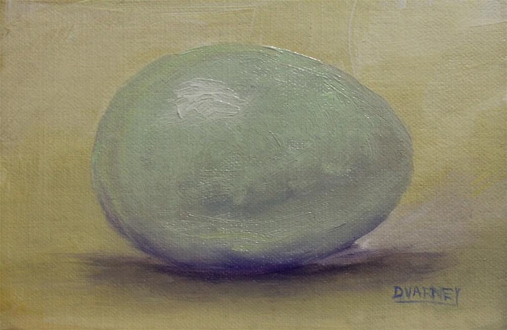 """Egg"" original fine art by Daniel Varney"