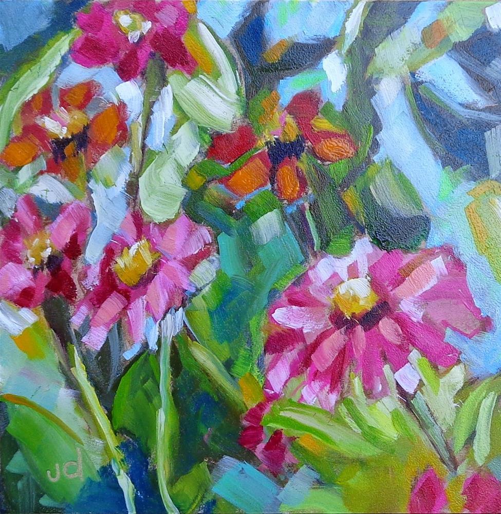 """""""Blissful"""" original fine art by Jean Delaney"""