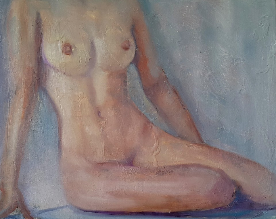 """Celebration of the female form"" original fine art by Rentia Coetzee"