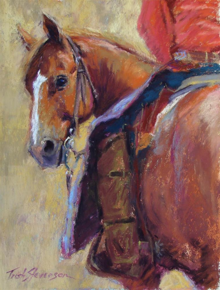 """The Professional"" original fine art by Trish Stevenson"