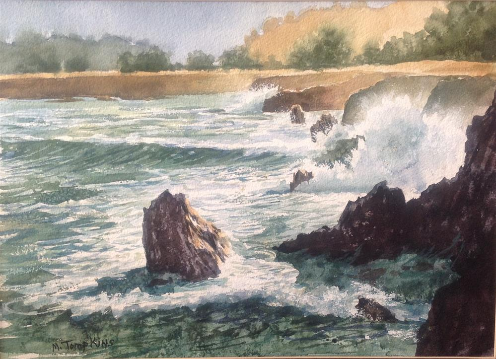 """California North Coast"" original fine art by Mark Tompkins"