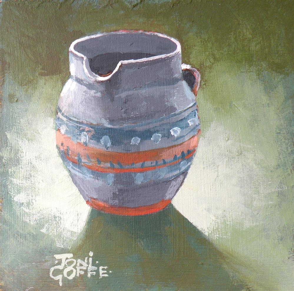 """Our Milk Jug"" original fine art by Toni Goffe"