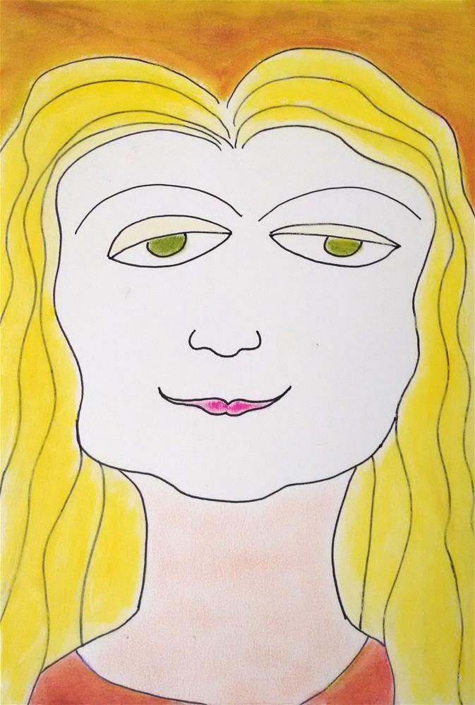 """""""Jasmine"""" original fine art by Adéla Svobodová"""