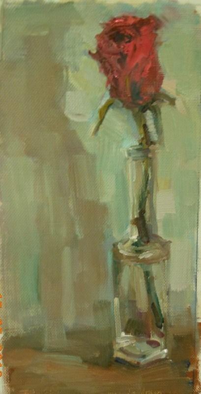 """Mother's Day Rose"" original fine art by Brande Arno"