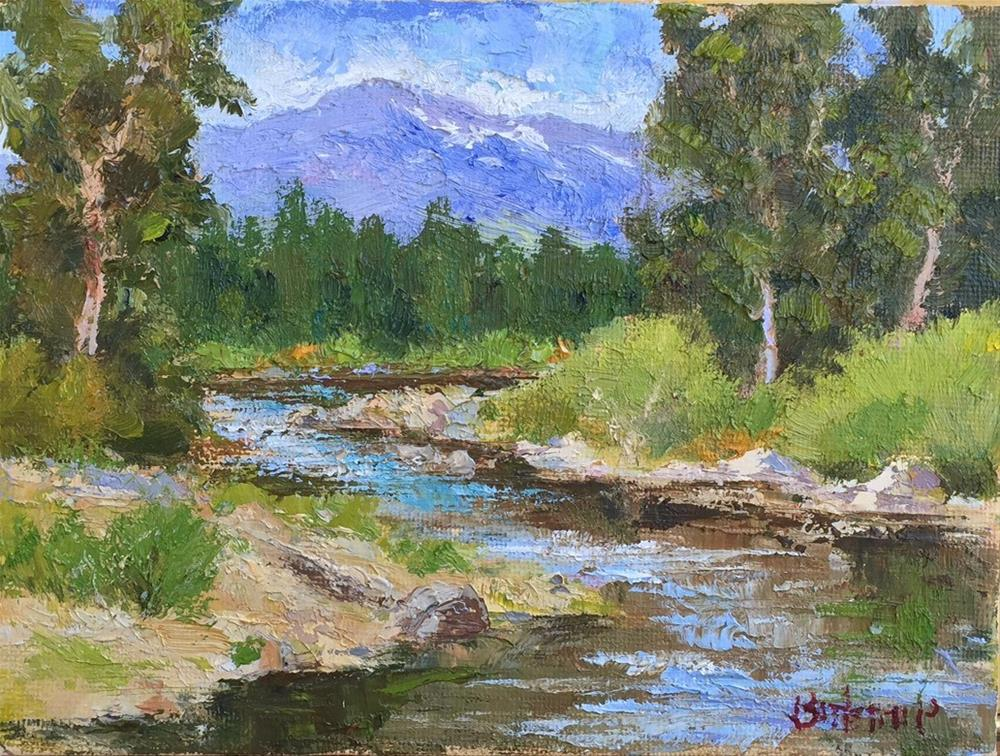 """Blackwood Canyon - Lake Tahoe"" original fine art by Mark Bidstrup"